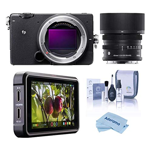 Sigma fp Mirrorless Digital Camera with 45mm f/2.8...