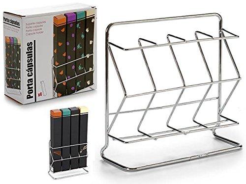 Dream Hogar Soporte Metal Vertical portacapsulas Caja capsula cafetera