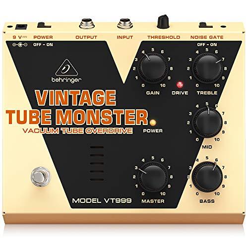 Behringer Vintage Tube Monster VT999 Classic Vacuum Tube Overdrive Instrument