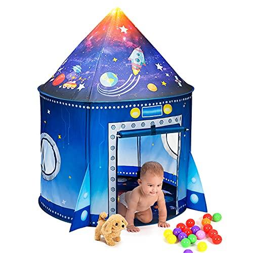 LINGSFIRE Tenda da Gioco, Tenda del Castello Tenda per Bambini Outdoor Gioco e Play Tent per Ragazze e Bambini, Casetta dei Giochi per Interni ed Esterni, con Borsa da Trasporto, Regalo per Bambini