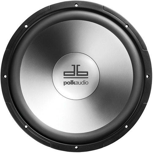 Polk Audio DB1240 12-inch Single Voice Coil Subwoofer (Black)