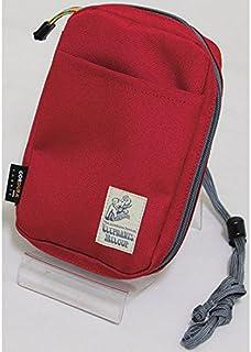 十川鞄 ELEPHANTS MELODY PETIT エレファンツメロディ パスポート&カードケース 小物入れ レッド EPT-2709P-RD
