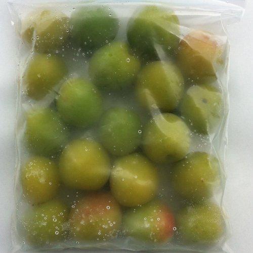 和歌山県産 冷凍 南高梅 (梅酒、梅シロップ用) (1kg(500g×2袋))
