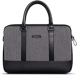 "WIWU Laptop Shoulder Bag Case, Multi-Functional Suit Fabric Portable Laptop Sleeve Case forMenWomenCompatibleCover for MacBook/HP/Lenovo Fits13/13.3/13.5/13.9Inch(13"",Black)"