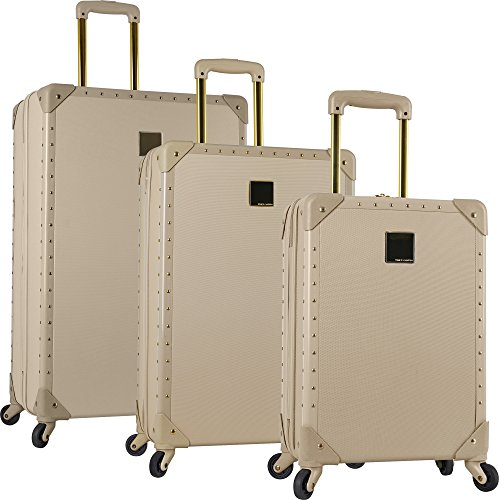 Vince Camuto Jania 3 Piece Spinner Luggage Set (Latte)
