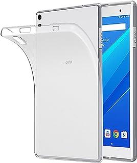 Gosento Lenovo Tab4 8 Plus ケース クリスタル クリア 透明 TPU素材 Lenovo Tab 4 8 Plus 保護カバー (クリア)