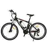 BIKFUN Bicicletta Elettrica, Bici Elettriche 26'/ 27,5' con Batteria al Litio 36 V 12,5 Ah/ 10 Ah/ 8 Ah, Motore 250W, Shimano 21 velocità (26' classico-8Ah)
