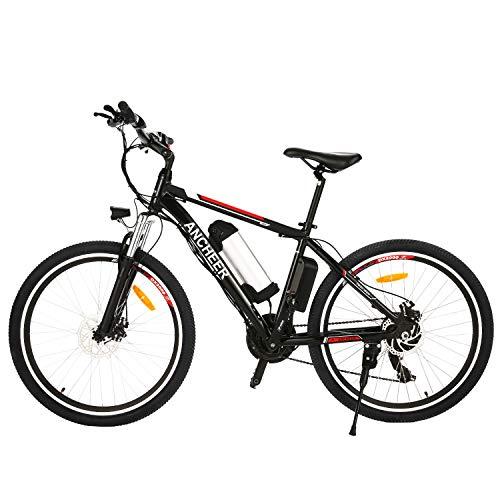 BIKFUN Bicicletta Elettrica, Bici Elettriche 26' con Batteria al Litio 36 V 8 Ah, Motore 250W, Shimano 21 velocità (26' classico-8Ah)