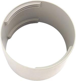Gelentea - Conector de tubo de escape para aire acondicionado, interfaz de conducto de escape, adaptador de tubo para aire acondicionado portátil, fácil de usar, Conector del ventilador., 150 mm