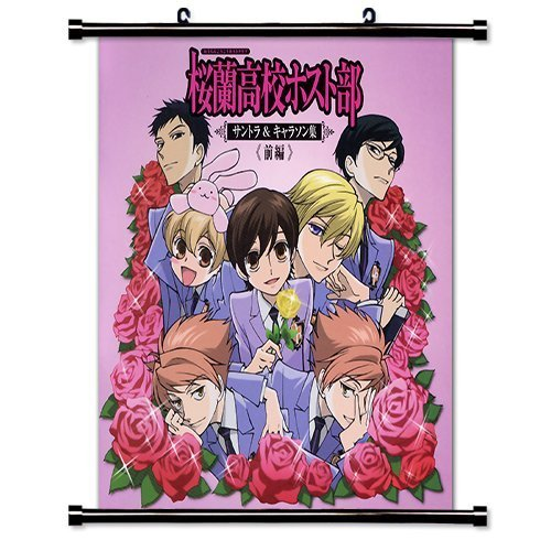 Pôster de rolagem de parede Ouran High School Host Club Anime (40,64 cm x 40,64 cm) [WP]-Ouran-53