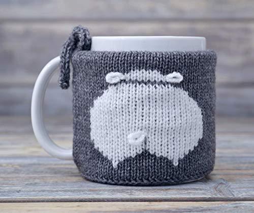 Sheep Lover Gift Mug Cozy Coffee Tea Cup Warmer Sweater Cosy Sleeve
