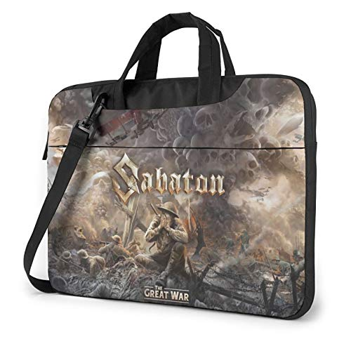 DFHDFH Sabaton Laptop Bag Laptop Sleeve Case with Shoulder Straps & Handle/Notebook Computer Case Briefcase Compatible 14 inch