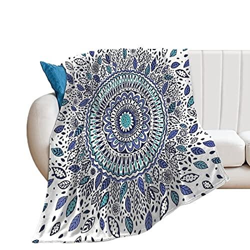 Manta de forro polar Unise x para decoración de la habitación de la cama de 76 x 101 cm, hojas de flores, manta suave y cálida y acogedora, manta de microfibra de felpa para cuna cochecito de bebé