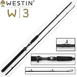 Fishing SpinCast Rod Westin W3 Jerkbait 1.95m...