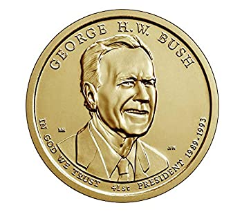 2020 P D 2 Coin - George H.W Bush Presidential Uncirculated