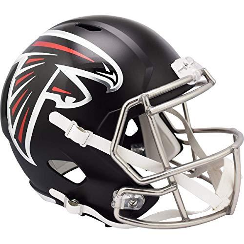 Riddell NFL Atlanta Falcons Speed Replica Football Helmet, Black