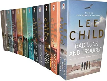 Lee Child Collection: Killing Floor, Echo Burning, the Visitor, Tripwire, Die Trying, without Fail, Persuader, One Shot, the Enemy, the Hard Way, Bad Luck and Trouble