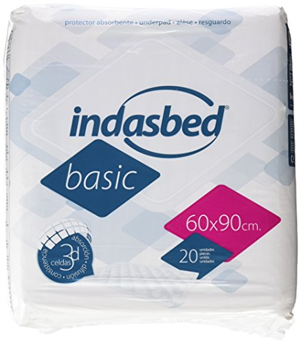 Indas Basic, Protezione per letti e mobili, 60 x 90 cm, un pacco con 20 pezzi