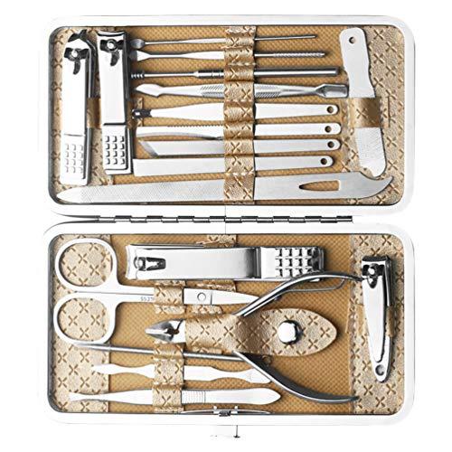 FRCOLOR Kit Profesional para El Cuidado de Las Uñas Cortaúñas Removedor de...