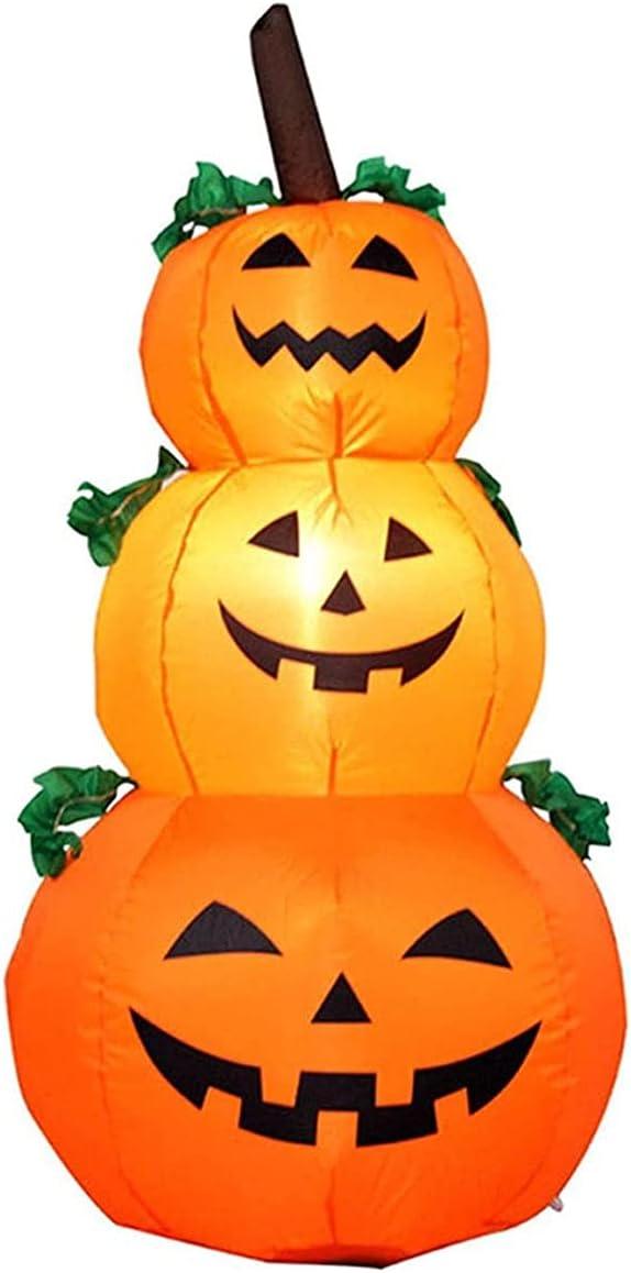 EEGUAI Fashion Halloween Inflatable LED Pumpkin Hol Light Outdoor Indoor List price