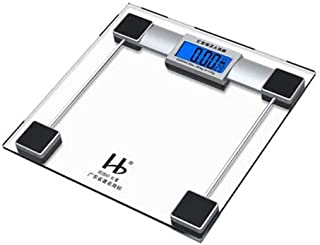 Weighing,Digital Body Weight Bathroom,Weighing Scale, Scale with Step-On Technology, Precision Digital Bathroom Scales, Ea...