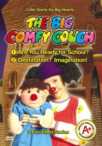 Big Comfy Couch: Are You Ready for School & Destin [VHS]