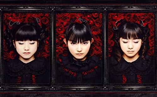 10pcs Großhandel 38inch x 24inch/96cm x 60cm BABYMETAL J-pop Silk Poster