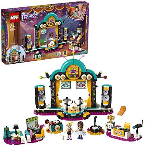 LEGO Friends - Espectáculo de Talentos de Andrea, set creativo e imaginativo con escenario de conciertos e instrumentos de juguete (41368)