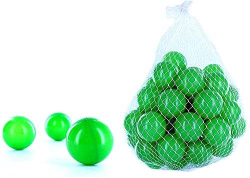 4000 Bälle für ein Bällebad in der Farbe Grün für Kinder, Babys oder auch Tiere