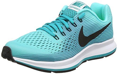 Nike Jungen Zoom Pegasus 34 Gs Laufschuhe, Türkis Aurora Green Black Turbo Green Blustery, 38 EU