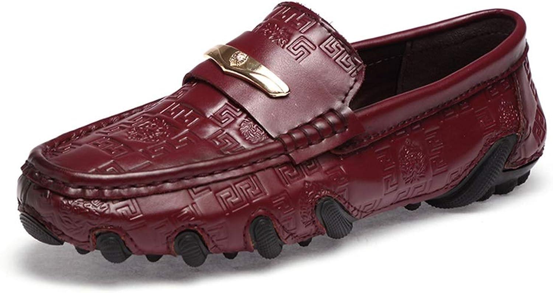 Mans Loafers och Slip -Ons, Driving skor, Springaa Springaa Springaa Fall läder Casual skor, Business skor Lazy skor Occupation, Offic (Färg  A, Storlek  40)  hög kvalitet och snabb frakt