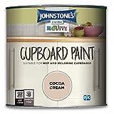 johnstones cupboard paint cocoa cream