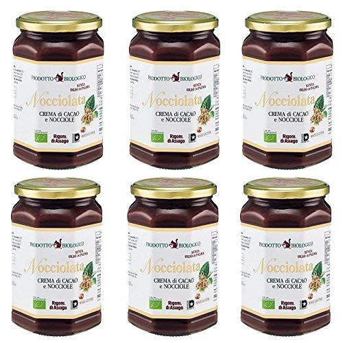 6x Rigoni di Asiago Nocciolata BIO Nuss Nougat Aufstrich schokolade 700g Brotaufstrich