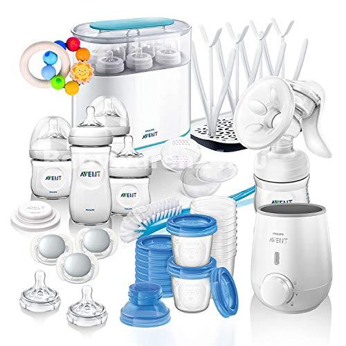 Philips AVENT Naturnah MEGA-SET III All-in-One Kit de démarrage avec de nombreux accessoires