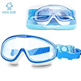 DasMeer Kids Swimming Goggles, Swimming Goggles Kids Anti-Fog Anti-Leak UV Protection Large Swim
