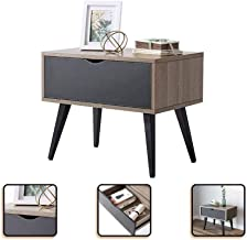 Metal Cabinet Feet, Storage Drawer, Modern Minimalist Bedside Table, Simple Mini Bedside Cabinet