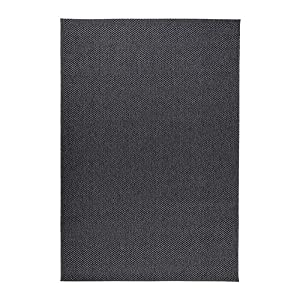 Ikea Morum - Rug, flatwoven, Gris Oscuro - 200x300 cm