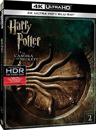 Harry Potter E La Camera Dei Segreti (4K Ultra Hd+Blu-Ray) [Italia] [Blu-ray]