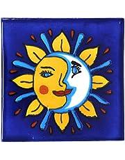 Azulejos Mexicanos Artesanales de Talavera de 10.5cm