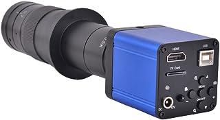 16MP HDMI USB HD Industry Digital Video Microscope Camera Digital Zoom 60Hz For Phone Repair + 180X C-mount Lens