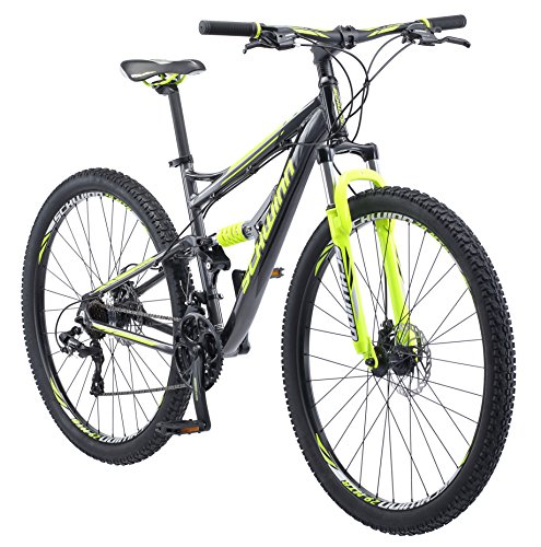 Schwinn Traxion Full Dual-Suspension Mountain Bike,...