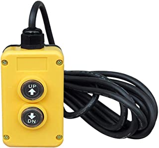 CONIE 4 Wire Dump Trailer Remote Control Switch 12V fits Double Acting Hydraulic Pumps Truck Tipper Trailer