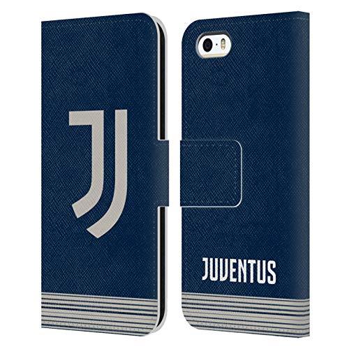 Head Case Designs Ufficiale Juventus Football Club Fuori Casa 2020/21 Kit Abbinato Cover in Pelle a Portafoglio Compatibile con Apple iPhone 5 / iPhone 5s / iPhone SE 2016