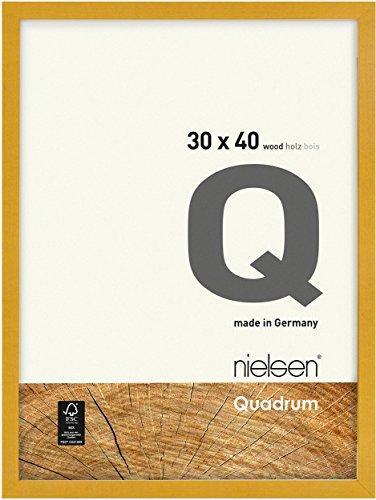 Nielsen Holz-Wechselrahmen Quadrum FSC 20x30 cm gelb