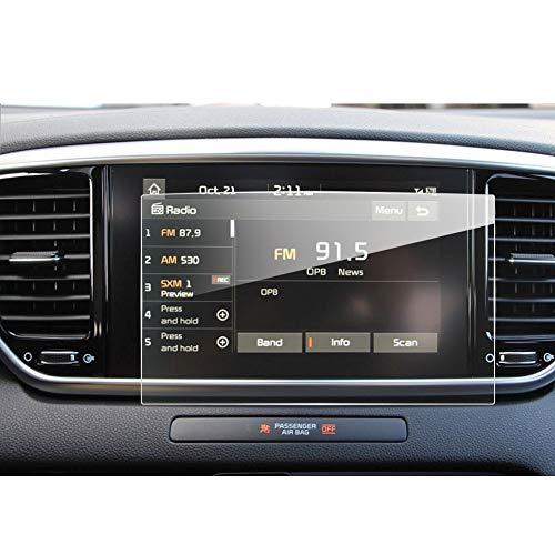 LFOTPP kogelvrij glas beschermfolie voor sport 8 inch navigatie, GPS Navi glas displaybeschermfolie