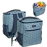 Home Gadgets Nevera Portatil Mochila Azul Plastico Malibu 37 cm