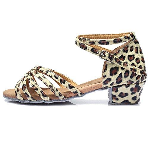 HROYL Zapatos de Baile Latino Niña Zapatos de Baile de Salon Mujer...