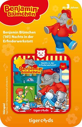 tigermedia 4140 tigercard-Benjamin Blümchen-Folge 141: Nachts in der Erfinderwerkstatt