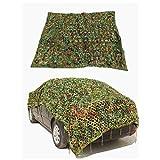 Cubierta de camuflaje para vehículo, Malla militar de camuflaje, Red de malla de lona de camuflaje, Impermeable ligero para sombrilla, toldo, decoración de fiesta, persiana de caza