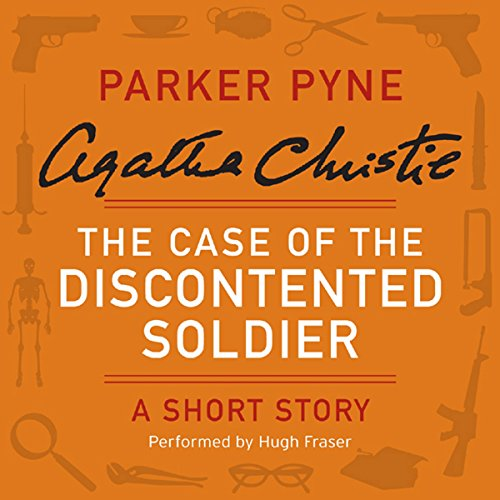 The Case of the Discontented Soldier audiobook cover art